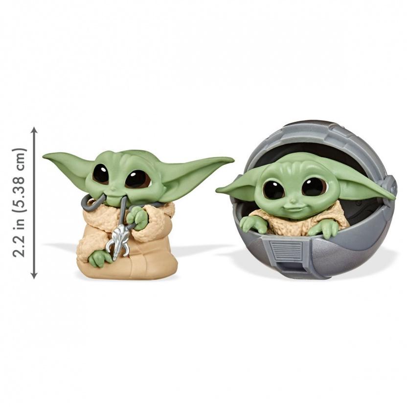 Star Wars The Mandalorian Baby Bounties Wave 2 Case - Baby Yoda eating ball