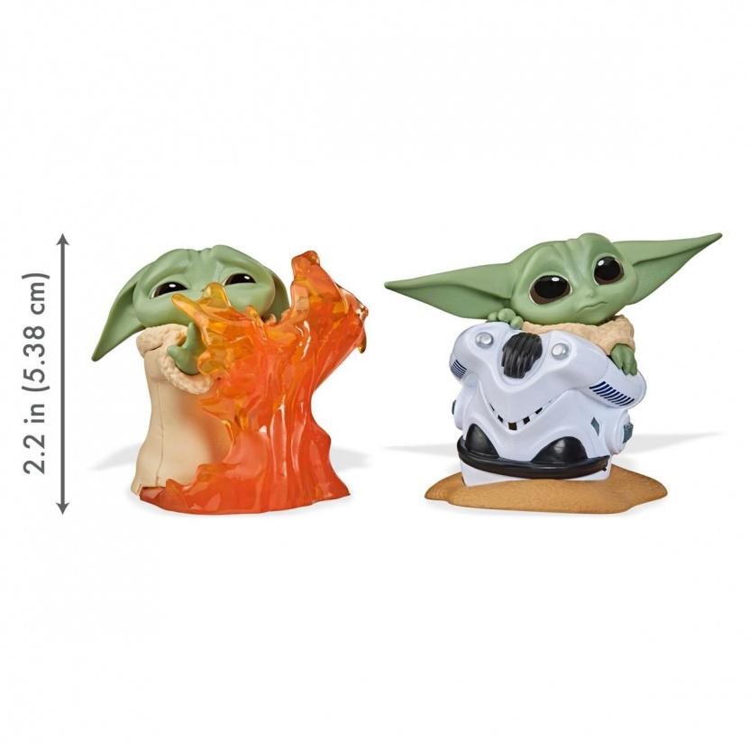 Star Wars The Mandalorian Baby Bounties Wave 2 Case - Baby Yoda eating ship