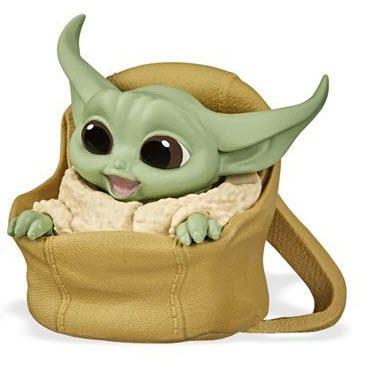 Star Wars The Mandalorian Baby Bounties Wave 2 Case - Baby Yoda in bag