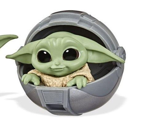 Star Wars The Mandalorian Baby Bounties Wave 2 Case - Baby Yoda in ball