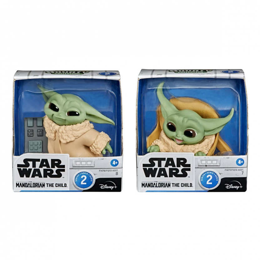 Star Wars The Mandalorian Baby Bounties - The Bounty Collection Wave 2 Baby Yoda in boxes