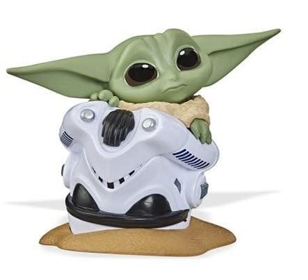 Star Wars The Mandalorian Baby Bounties Wave 2 Case - Baby Yoda in ship