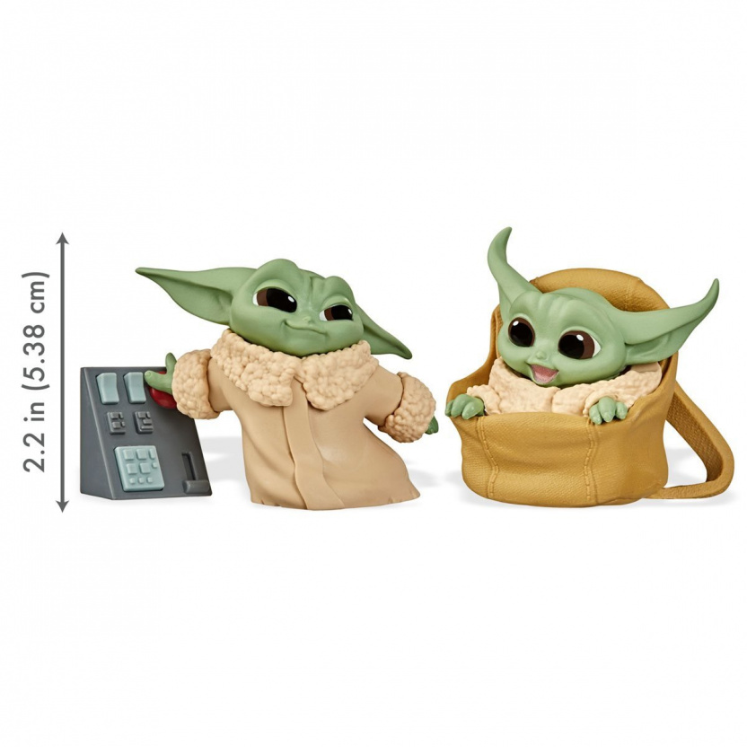 Star Wars The Mandalorian Baby Bounties Wave 2 Case - Baby Yoda keypad in bag