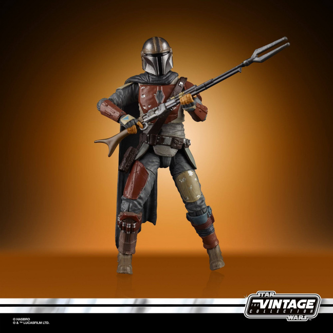Star Wars The Vintage Collection The Mandalorian 3 3/4-Inch Figure full