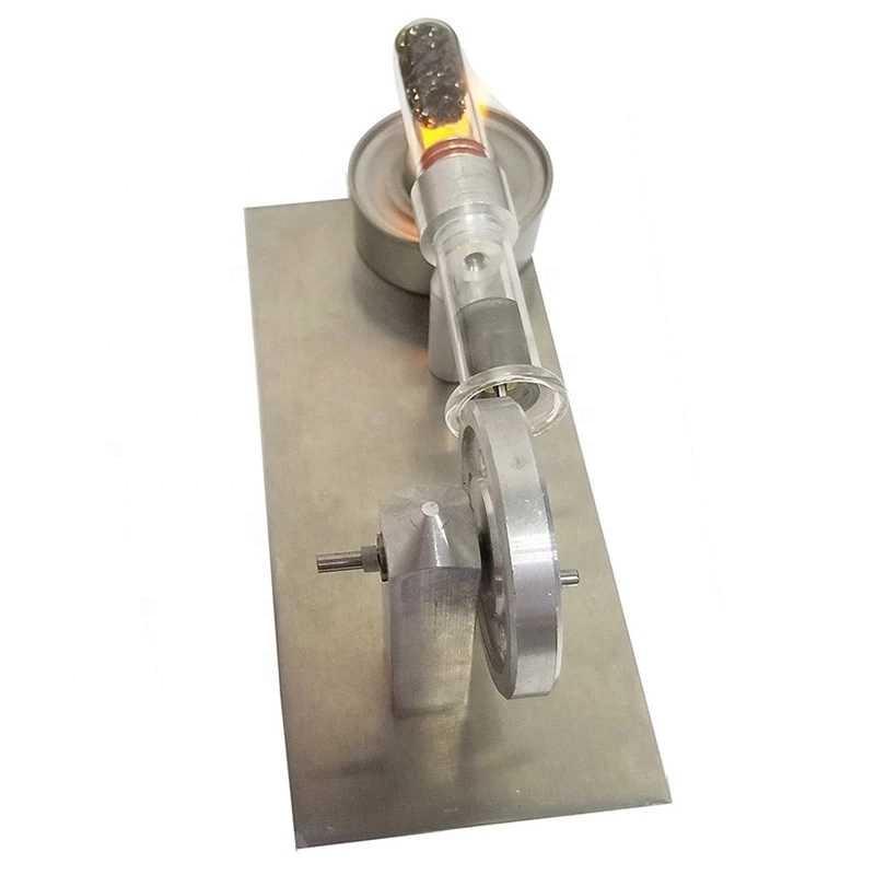 Stirling Engine Mini Generator Engine Model end