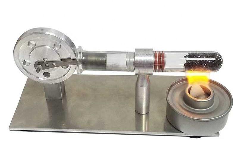 Stirling Engine Mini Generator Engine Model side 2
