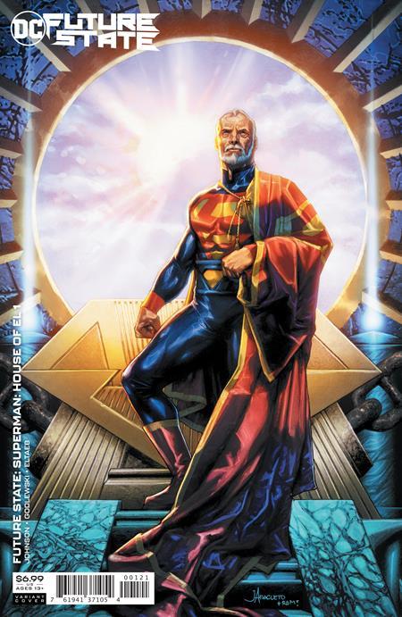 FUTURE STATE SUPERMAN HOUSE OF EL #1 (ONE SHOT) CVR B JAY ANACLETO CARD STOCK VAR