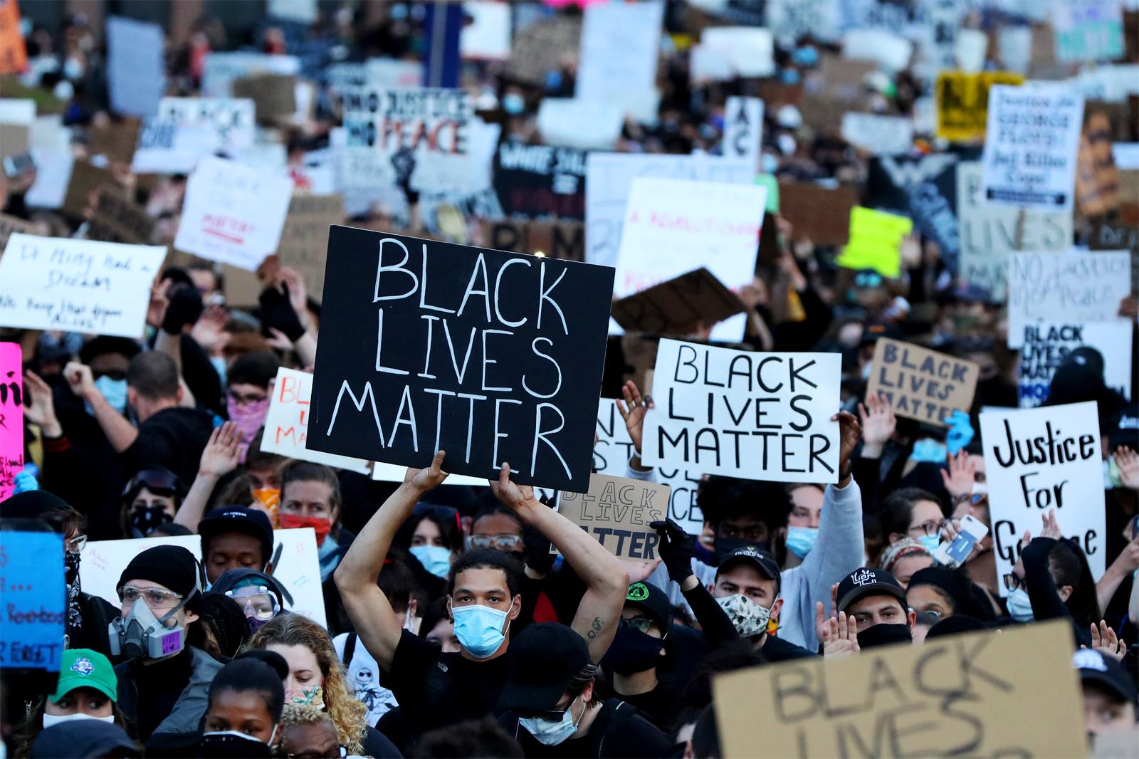 Black Lives Master protests