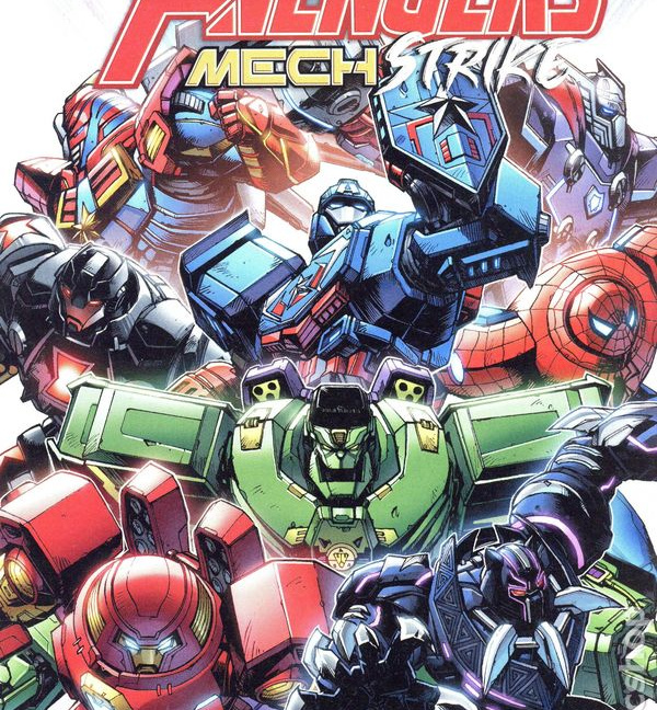 Avengers Mech Strike #1 Cover A Kei Zama and Guru-eFX