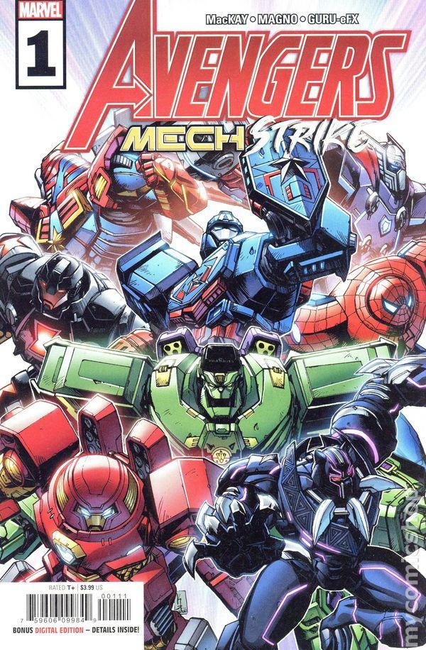Avengers Mech Strike #1 Cover A Kei Zama and Guru-eFX