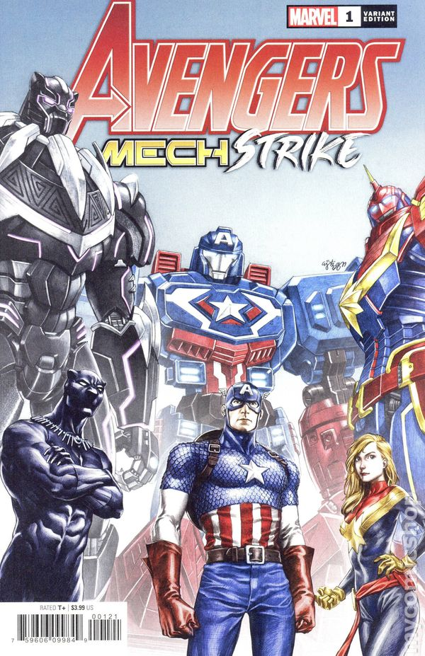 Avengers Mech Strike #1 Cover B E.J. Su