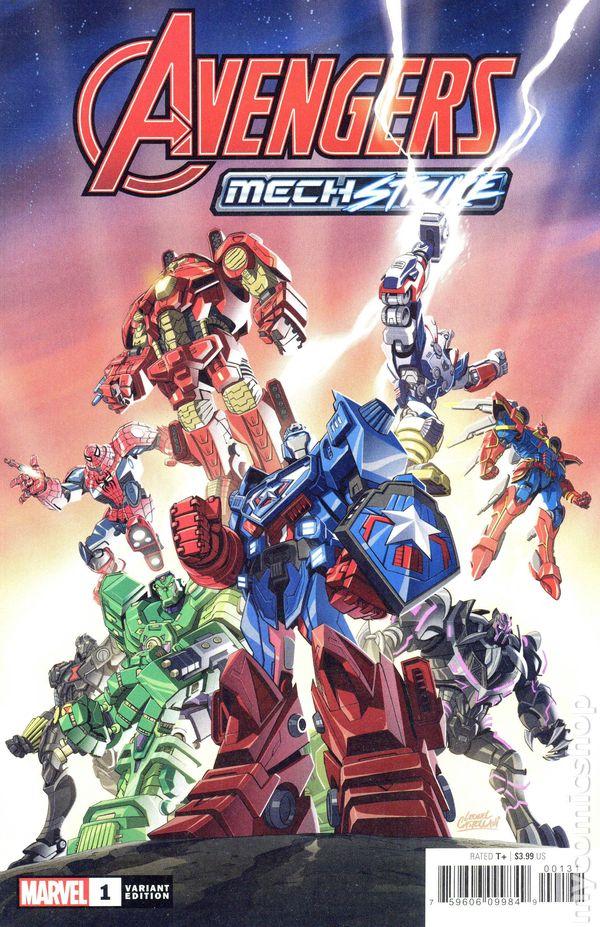 Avengers Mech Strike #1 Cover C Leonel Castellani