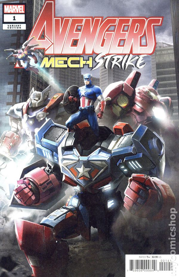Avengers Mech Strike #1 Cover D Jarold Sng