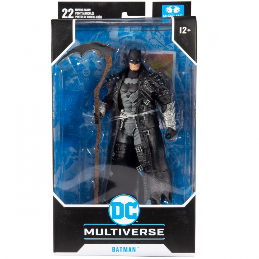 DC Multiverse Death Metal Batman 7-Inch Action Figure in box