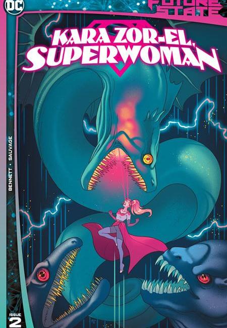 Future State Kara Zore-El Superwoman #2 Cover A Paulina Ganucheau