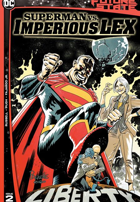 FUTURE STATE SUPERMAN VS IMPERIOUS LEX #2 (OF 3) CVR A YANICK PAQUETTE