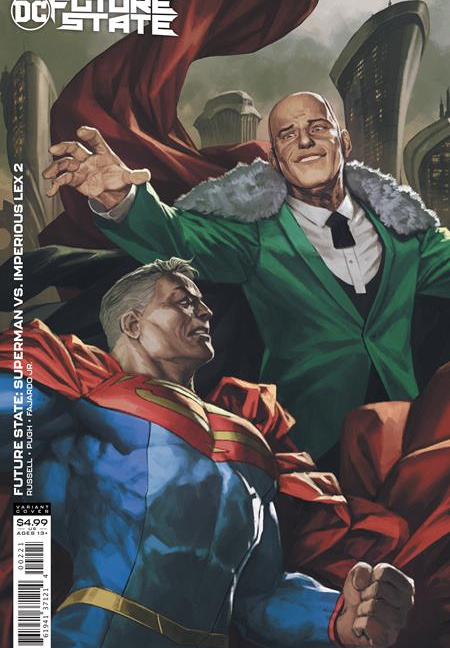 FUTURE STATE SUPERMAN VS IMPERIOUS LEX #2 (OF 3) CVR B SKAN CARD STOCK VAR