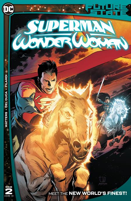 Future State Superman Wonder Woman #2 Cover A Lee Weeks
