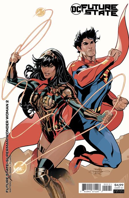 Future State Superman Wonder Woman #2 Cover B Terry and Rachel Dodson Card Stock Variant