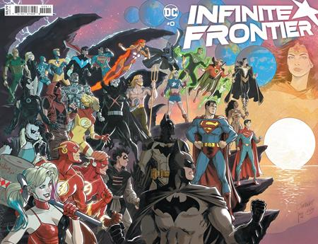 Infinite Frontier #0 (One Shot) Cover A Dan Jurgens and Mikel Janin