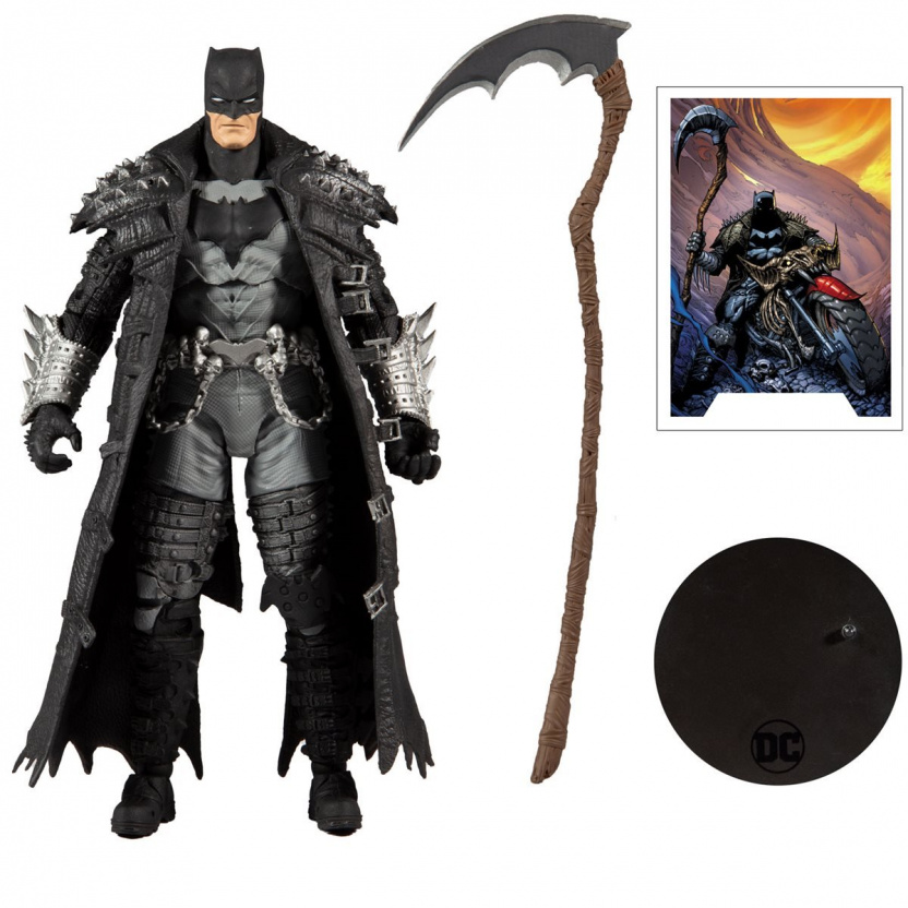 MacFarlane DC Multiverse Death Metal Batman 7-Inch Action Figure complete