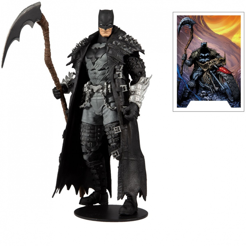 MacFarlane DC Multiverse Death Metal Batman 7-Inch Action Figure with Card