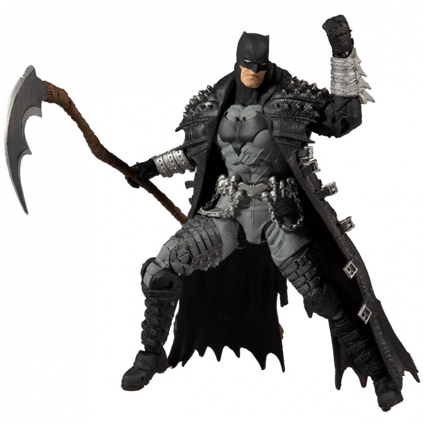MacFarlane Death Metal Batman 7-Inch Action Figure posed