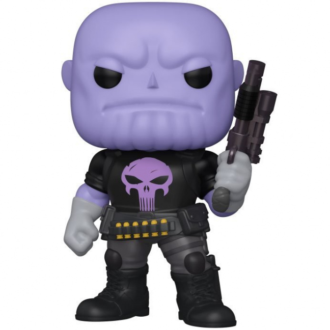 Thanos as Punisher Funko Pop! - Previews Exclusive - Marvel Heroes Earth 6-Inch Vinyl Figure #751