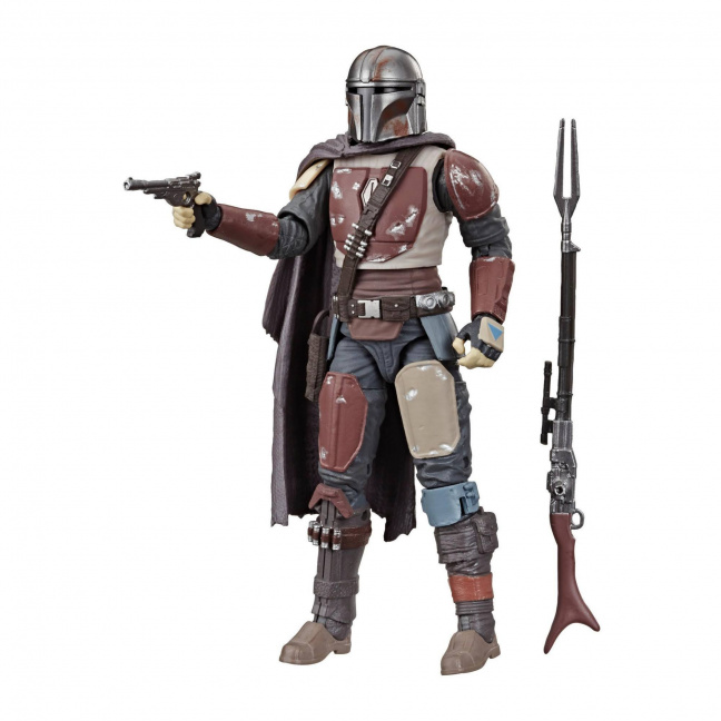 Star Wars The Black Series Mandalorian 6-Inch Action Figure with pistol