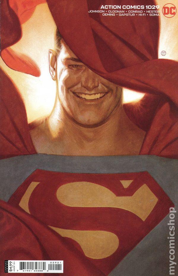 Action Comics #1029 - Julian Totino Tedesco Variant Cover