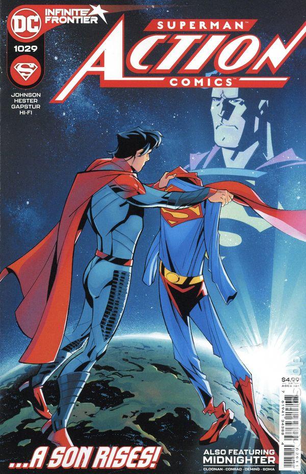 Action Comics #1029 - Phil Hester and Eric Gapstur Original Cover