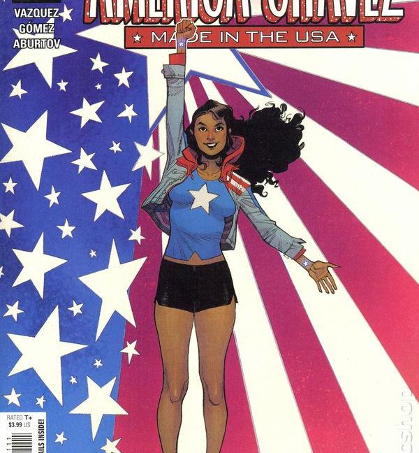 America Chavez Made in USA #1 Original Cover
