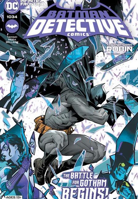 Detective Comics #1034 - Dan Mora Original Cover