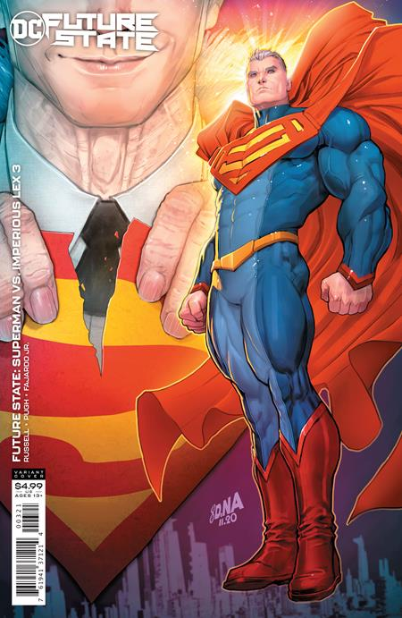 Future State Superman vs. Imperious Lex #3 - David Nakayama Card Stock Variant Cover
