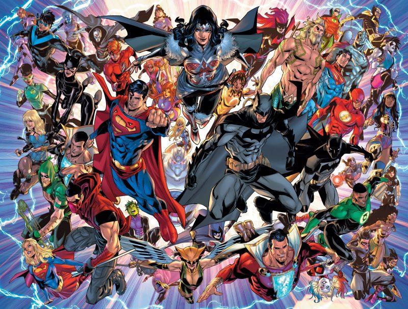 Infinite Frontier Superheroes