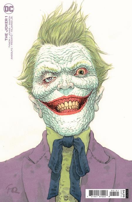 Joker #1 Cover B Frank Quitely Variant