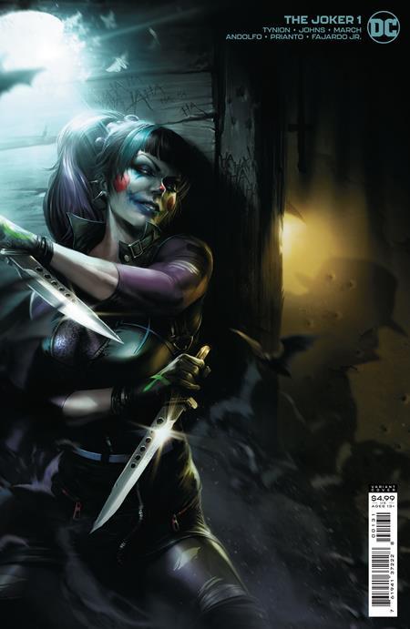 Joker #1 Cover C Francesco Mattina Variant