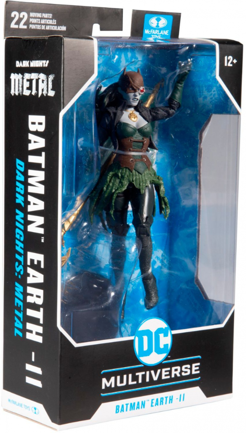 McFarlane DC Multiverse The Drowned 7-Inch Action Figure box left corner