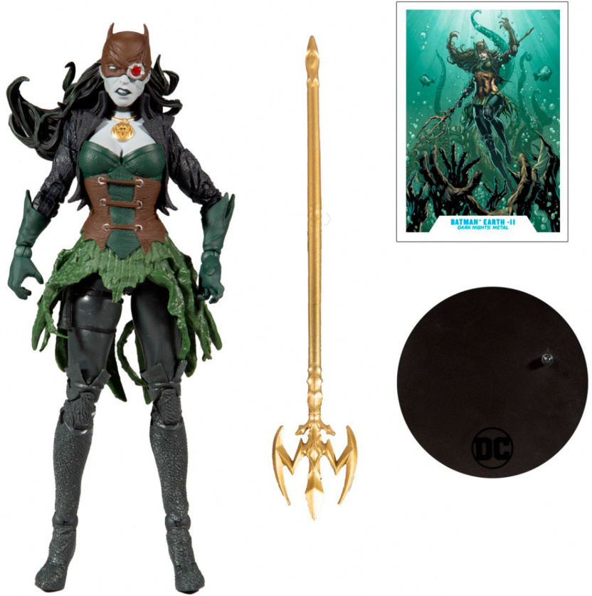 McFarlane DC Multiverse The Drowned 7-Inch Action Figure with weapons stand