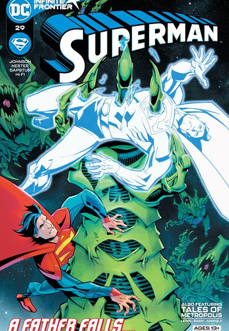 Superman #29 Cover A Phil Hester