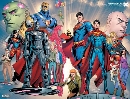 Superman #29 Cover B John Timms Wraparound Variant