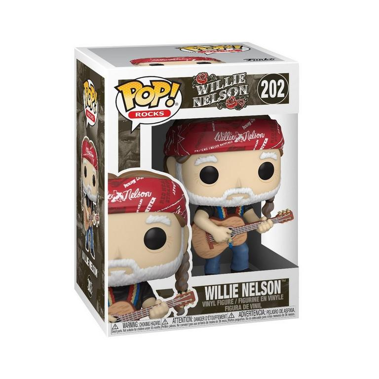 Willie Nelson Funko Pop Vinyl Figure in box
