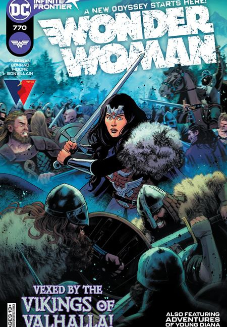 Wonder Woman #770 Cover A Travis Moore