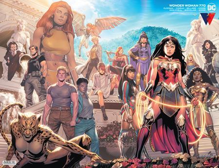Wonder Woman #770 Cover B Travis Moore Wraparound Variant