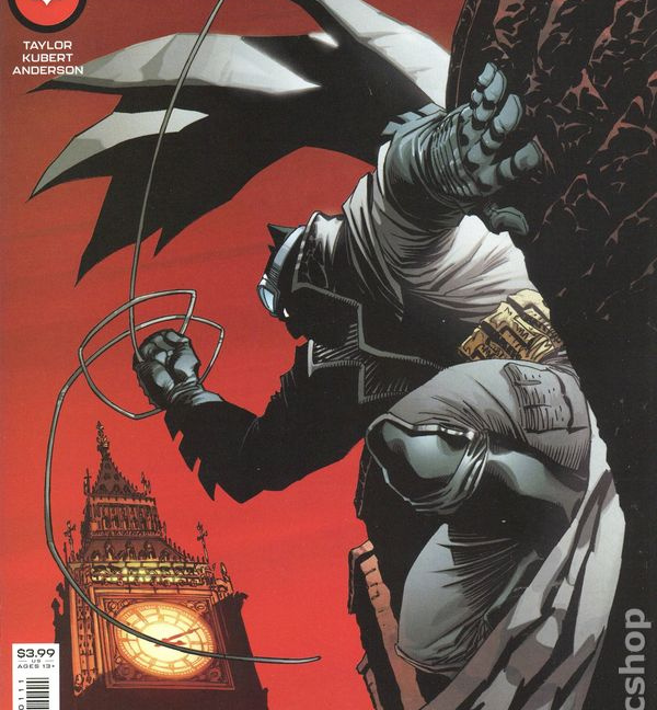 Batman the Detective #1 Cover A Andy Kubert