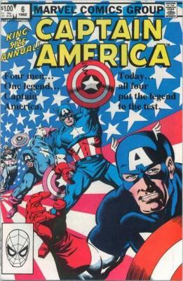 Captain America Annual #6 (1982)