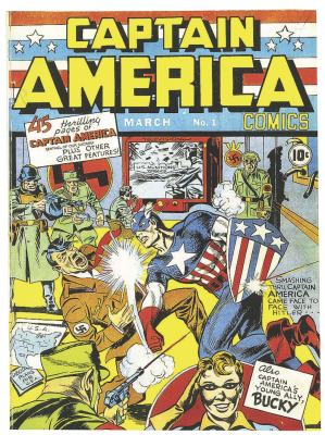 Captain America Issue #1 March 1941