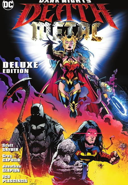 Dark Nights Death Metal Deluxe Edition Hardcover