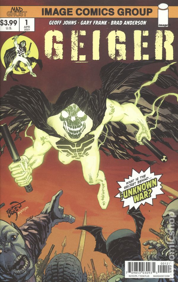 Geiger #1 Cover B Erik Larsen