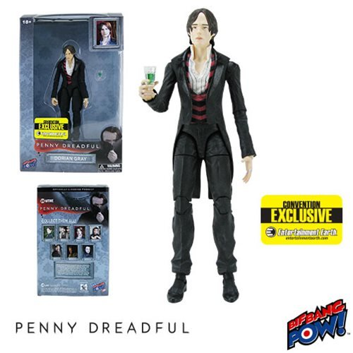 Penny Dreadful Dorian Gray 6-inch figure - Convention Exclusive with logos